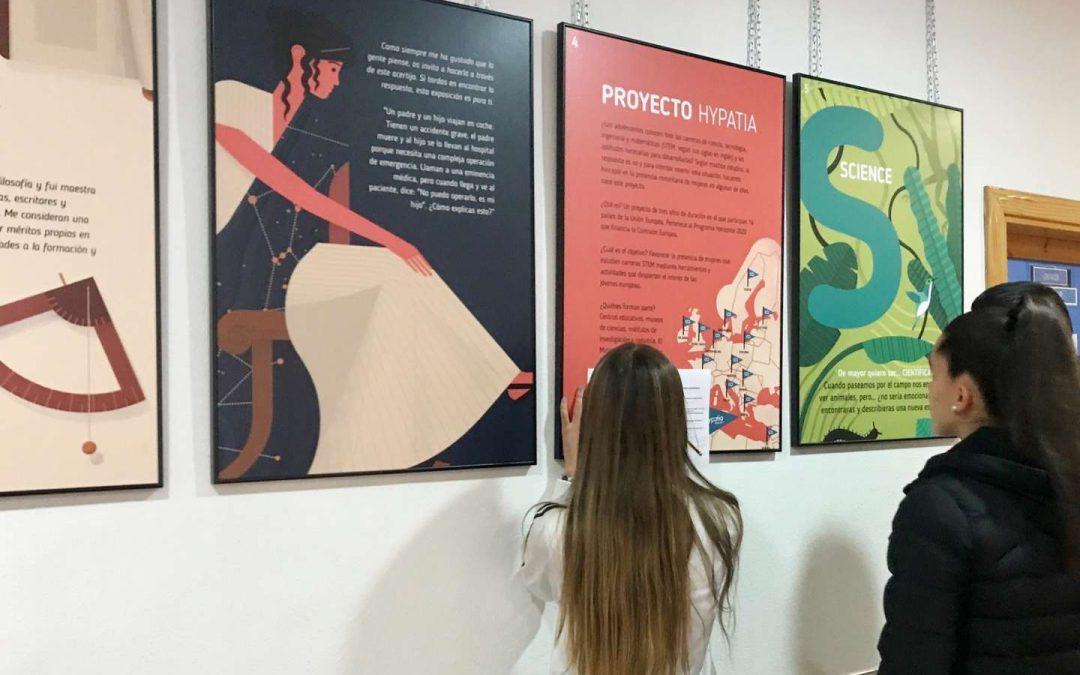 'Las chicas somos guerreras...' en el IES Madrid Sur