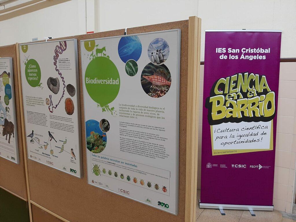 'Biodiversidad' en el IES San Cristóbal de los Ángeles